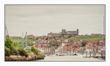 Whitby looks good with the Abbey on the headland above the River Esk estuary, Yorkshire coast