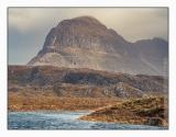 Not quite Loch Fionn but past the falls